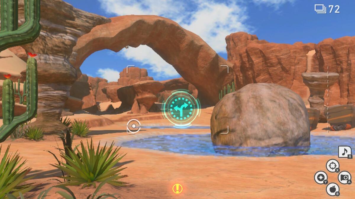 New Alternate Route of Pokémon Snap Barren Badlands
