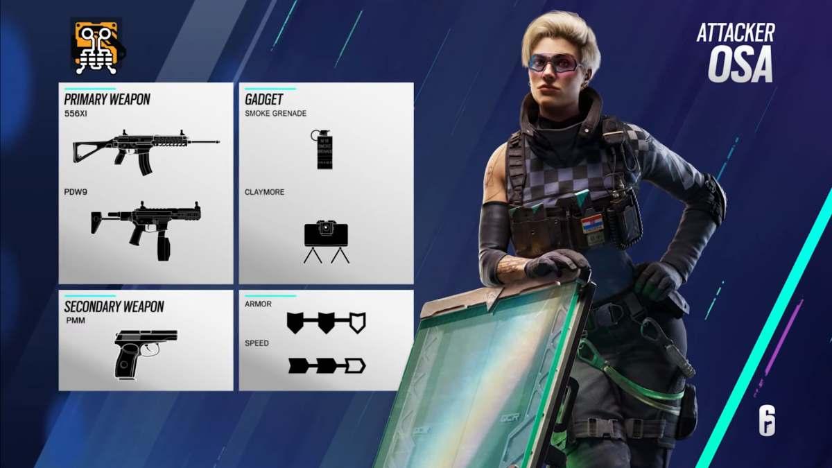 Rainbow 6 Siege Osa Loading Guide Operator