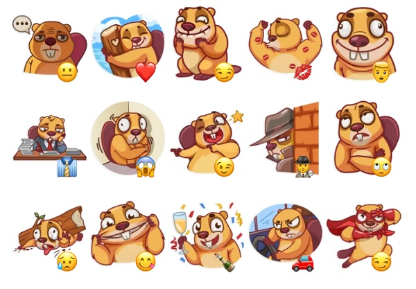 Animated stickers for Telegram