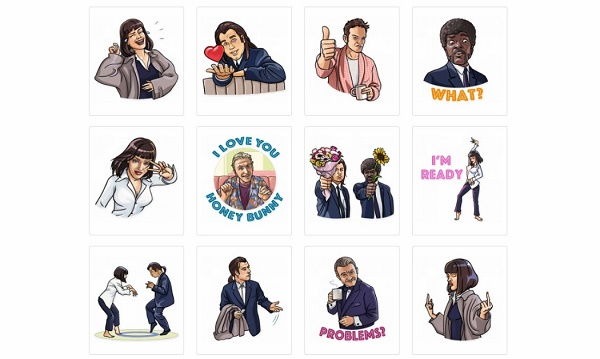 Cinema Stickers for Telegram