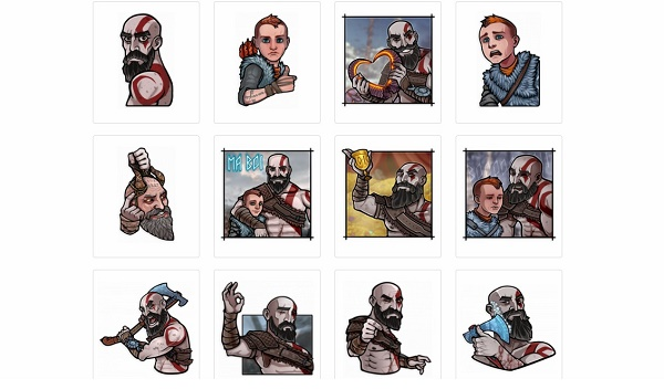 Video game stickers for Telegram