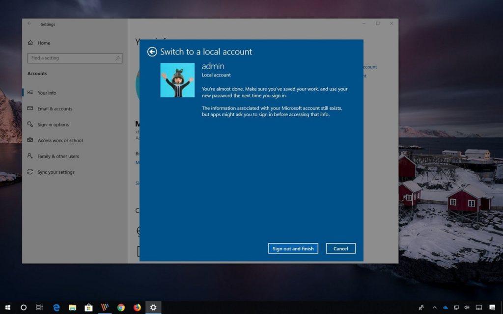 Compte Microsoft Windows 11 2