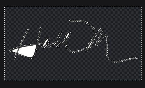 Comment numériser votre signature sans arrière-plan étape 11