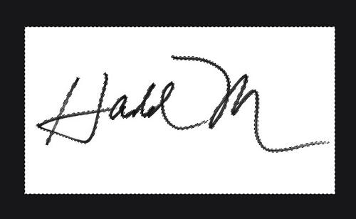 Comment numériser votre signature sans arrière-plan étape 9