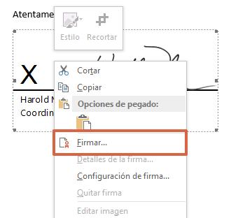 Comment insérer une ligne de signature dans Word étape 4