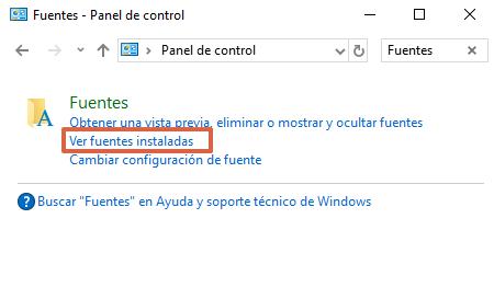 Comment installer des polices sous Windows à l'aide du panneau de configuration étape 3
