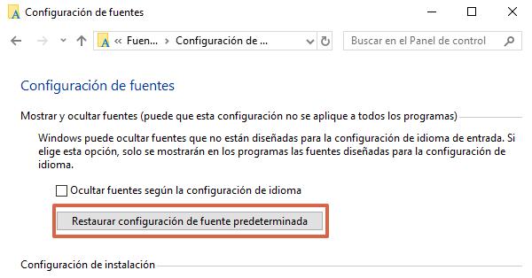 Comment réinitialiser les polices par défaut dans Windows étape 4