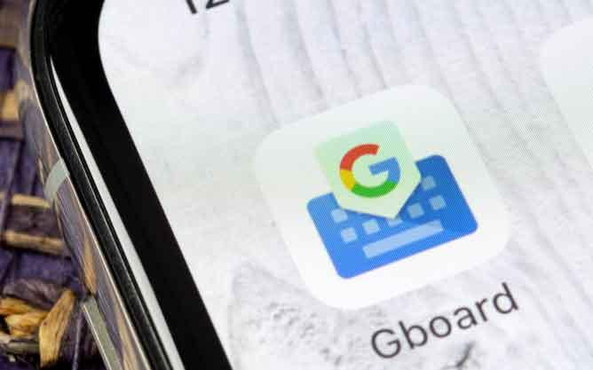 Comment changer le fond d'écran de Gboard