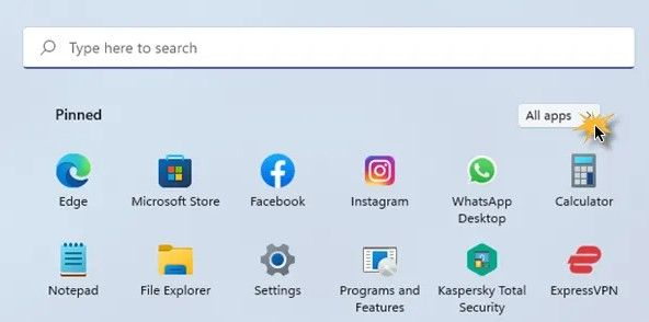 Applications Windows 11