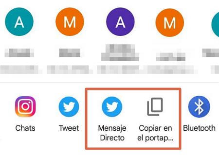 Comment envoyer l'emplacement de google maps à d'autres applications méthode 1